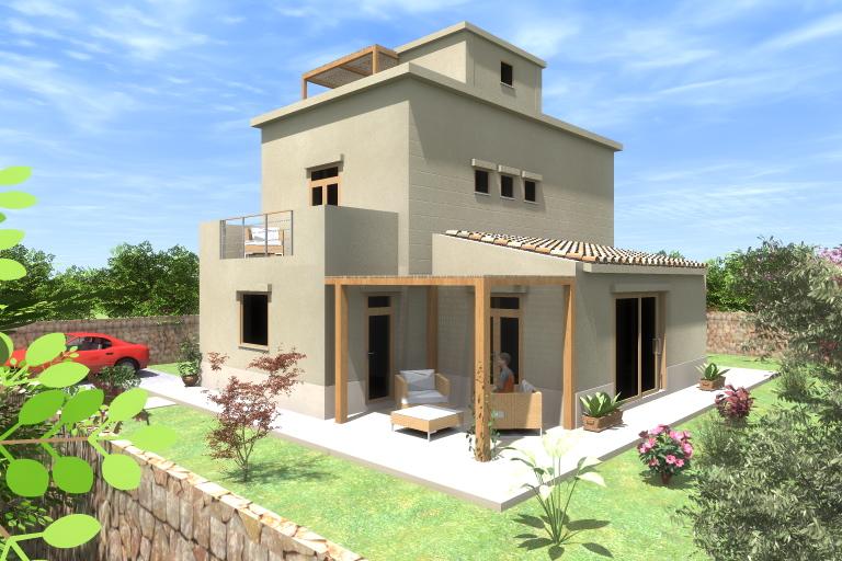 Progetto realizzazione abitazione residenziale for Progettista di garage virtuale
